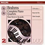 Brahms: Piano Quartets, Piano Trio in...