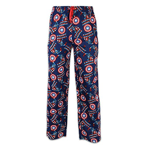 Character Mens' Captain America Lounge Pant