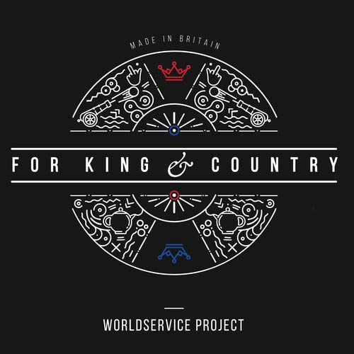 Vinilo : WORLDSERVICE PROJECT - For King & Country
