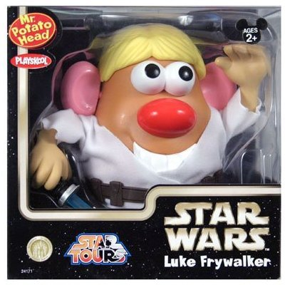 51B02LZlXGL Cheap  Mr. Potato Head Luke FryWalker Star Wars Edition (Walt Disney World Exclusive)