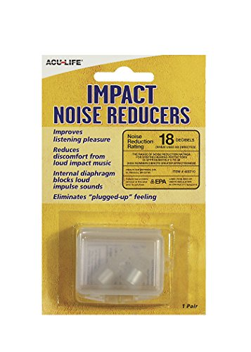 Acu-Life Impact Noise Reducers Ear Plugs Sound Filter Ear Plugs (Sonic 2 Ear Plugs compare prices)