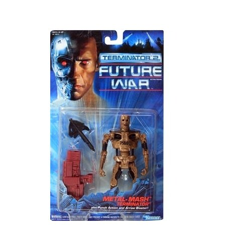 Terminator 2 Future War Metal Mash Terminator Action Figure - 1