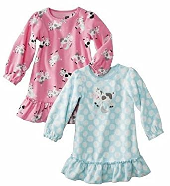 Just One You by Carter's Toddler Girls Gown - 2 Pack (12 Months)