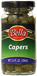 Bella Capers, 3.5 Ounce (Pack of 12)