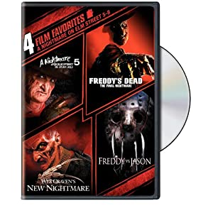 Click to buy Scariest Movies of All Time: A Nightmare on Elm Street 5-8: 4 Film Favorites from Amazon!