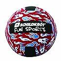Schildkröt Fun Sports 970070 Neoprene Beachvolleyball, schwarz/gelb/blau, 5 (20cm)