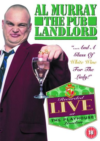 Al Murray  The Pub Landlord  Live  Glass of White Wine for the Lady [DVD] [2004]