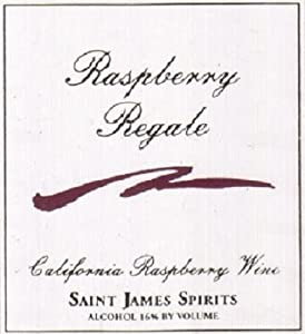NV Saint James Raspberry Regale California Dessert Wine 375 mL