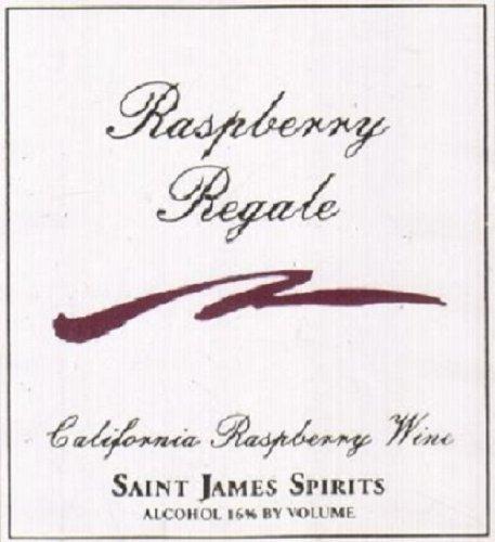 Nv Saint James Raspberry Regale California Dessert Wine 375 Ml