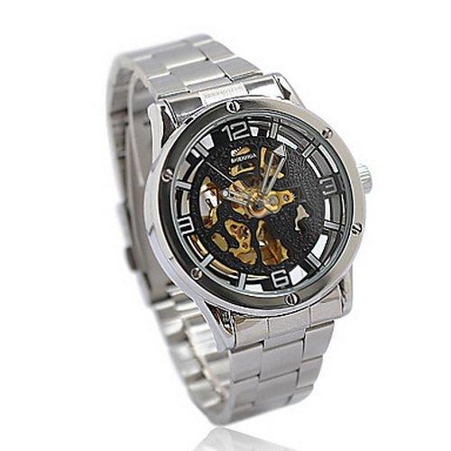 Automatic Sport Mechanical Wrist Men Boy Watch #SWALWW2666