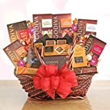Grand Godiva Valentine Chocolate Gift Basket