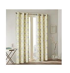 Intelligent Design Maci Window Panel - Yellow - 84\