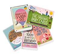 Milestone Baby Cards Gift Set -first…