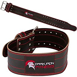 small leather weightlifting belt for women men workout powerlifting back support black red buckle loss valeo training single prong pink crossfit grizzly rdx women\'s ader pull dip girl girls pioneer