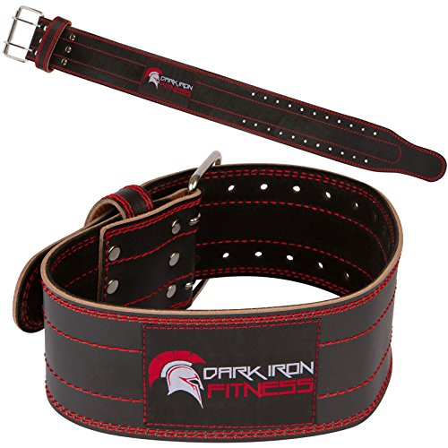 Genuine-Leather-Pro-Weight-lifting-Belt-for-Men-and-Women-Durable-Comfortable-Adjustable-with-Buckle-Stabilizing-Lower-Back-Support-for-Powerlifting-Crossfit-More