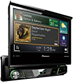"""Pioneer AVH-X7700BT Autoradio Touch Screen con Schermo Pieghevole da 7"""", USB e Bluetooth, Nero/Antracite"""