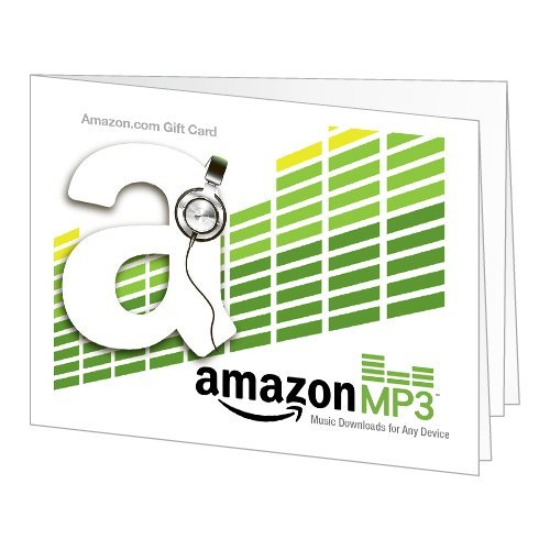 Amazon Gift Card - Print - Amazon Mp3 (Headphones)