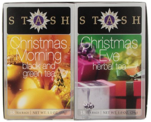 Stash Tea Christmas Teas Gift Set, 2.1 Ounce