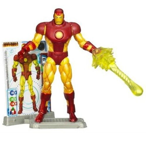 Iron Man 2 Comic Series 4 Inch Action Figure Iron Man (Iron Man Action Figure )