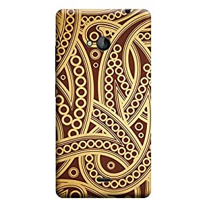 CaseLite Premium Printed Mobile Back Case Cover With Full protection For Microsoft Lumia 535 (Designer Case)