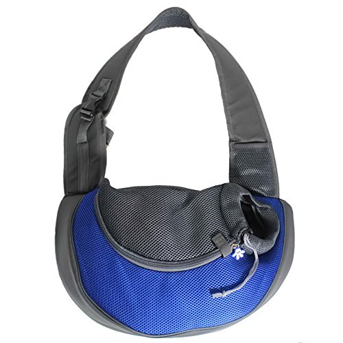 OurWarm Royal Blue Ondoing Portable Carrier Pet Cat Carrier Cat Travel Bag Rabbit Dog Shoulder Bag Small Size