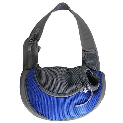 OurWarm Royal Blue Ondoing Portable Carrier Pet Cat Carrier Cat Travel Bag Rabbit Dog Shoulder Bag Small Size