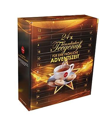 Quertee Tee Adventskalender mit 24 Türchen 24 x loser Tee für einen Kannenaufguß 24 x 15 g Tee, 1er Pack (1 x 360 g) von Quertee auf Gewürze Shop