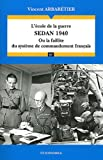 acheter livre occasion LEcole de la guerre : Sedan 1940