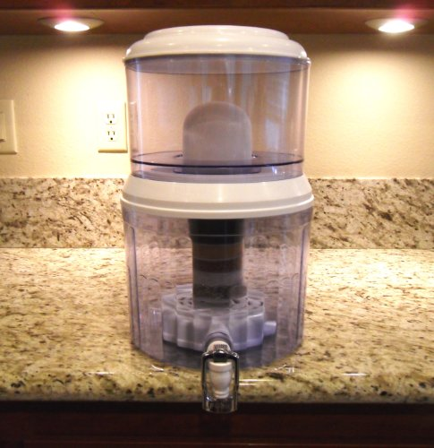 4 Gallon Countertop Water Filter Transform Tap Water To