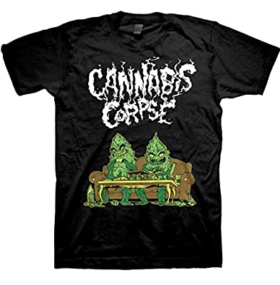 Cannabis Corpse Couch Dudes T-Shirt