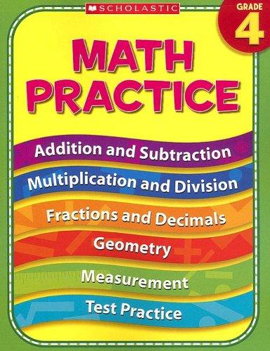 4th Grade Math Practice (Practice (Scholastic))