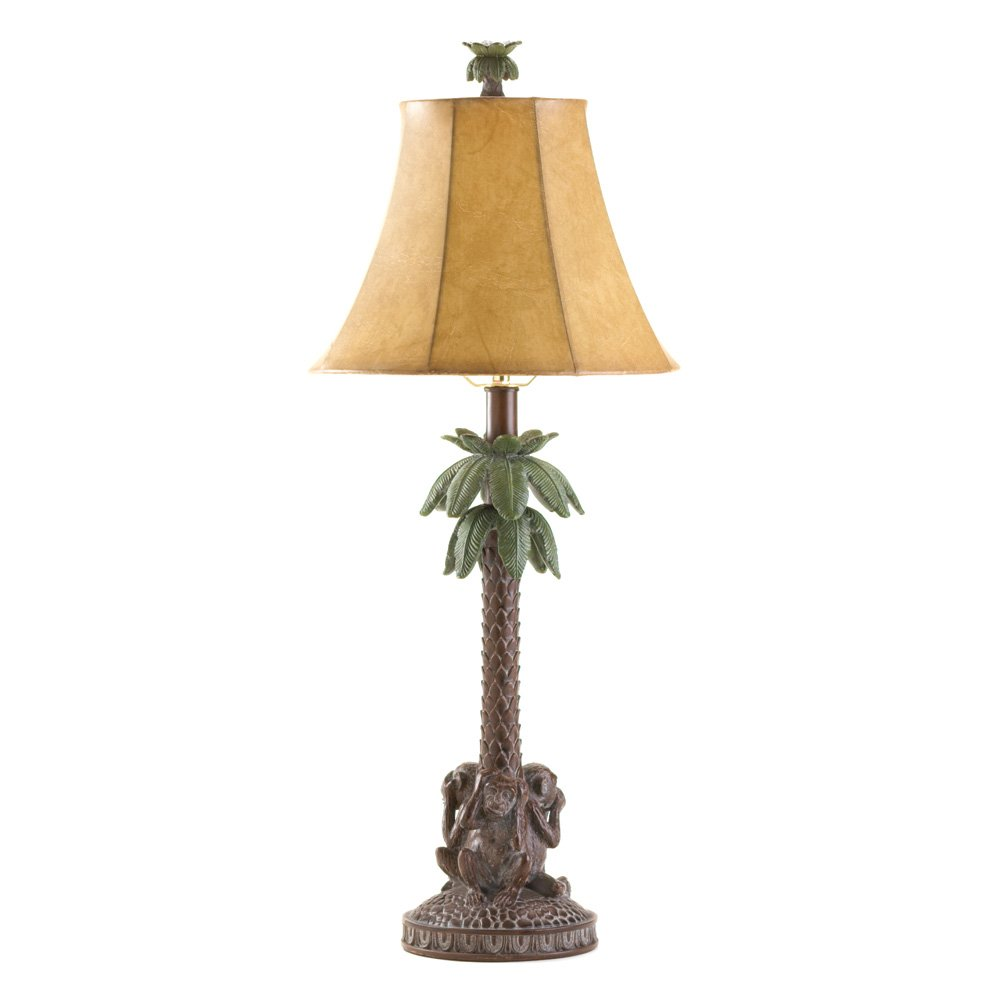 Monkey Palm Tree Table Lamps