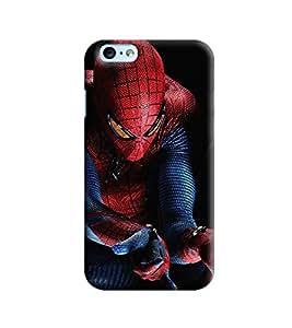 Blue Throat Spider Man Printed Designer Back Cover/Case For Apple iPhone 6