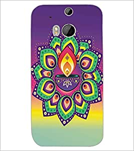 HTC ONE M8 DEEP Designer Back Cover Case By PRINTSWAG