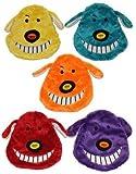 """MultiPet Loofa Crinkle Head 7"""" Dog Toy"""