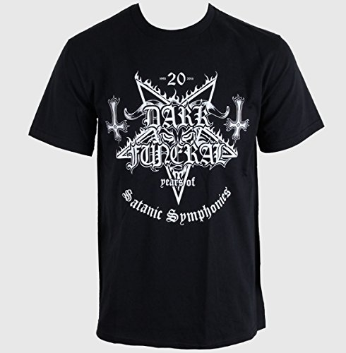DARK FUNERAL    20 YEARS OF SATANIC SYMPHONIES  T-Shirt   M