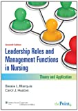 img - for Leadership Roles and Management Functions in Nursing (Marquis, Leadership Roles and Management Functions in Nursing) book / textbook / text book