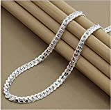 AVN JEWELLERS 915 Pure Sterling Silver Plated Elegant Chain at Special Offer