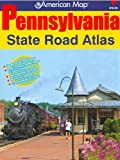img - for American Map Pennsylvania State Road Atlas book / textbook / text book