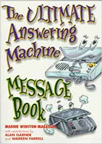 free phone answering machine messages audio
