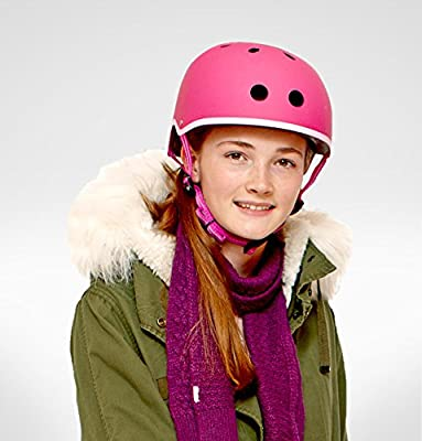 Micro Safety Helmet Pink Small for Boys and Girls Cycling Scooter Bike by Micro Scooters