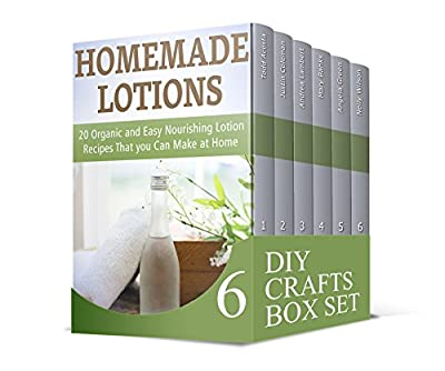 DIY Crafts Box Set: 70+ Homemade Shampoos, Lotions and Homemade Beauty Products You Can Make at Home. 5 Lessons to Master Knitting (Homemade Lotions, Homemade Lotions books, Homemade Shampoo)