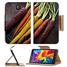 buy Msd Premium Samsung Galaxy Tab 4 7.0 Inch Flip Pu Leather Wallet Case Organic Rainbow Carrots From The Local Farm Image 19161206