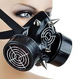 Cyber Goth Rave Cosplay Mask Spike
