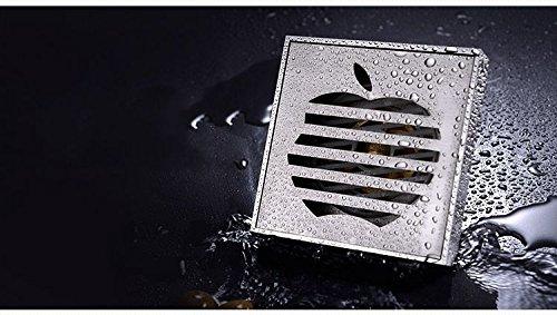 laiton-nickel-brosse-mjj-art-sculpte-apple-square-douche-siphon-de-sol-a-grille-classique-de-luxe-de