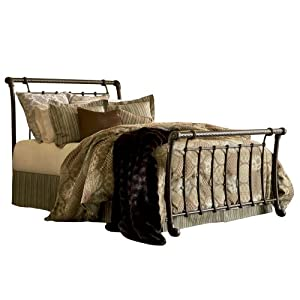 Fashion Bed Group Legion Bed, Ancient Gold, Queen