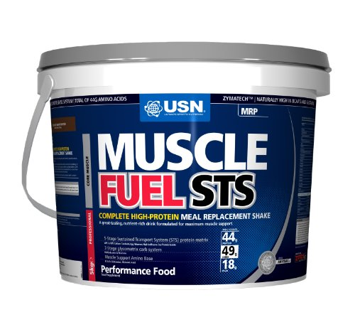 USN Muscle Fuel STS 5000 g Strawberry High Protein Meal Replacement Shake Powder