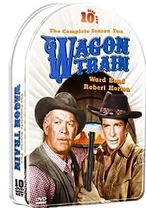 Wagon Train: Season 2 in a Collectible Embossed Metallic Tin! 10 DVD Set!