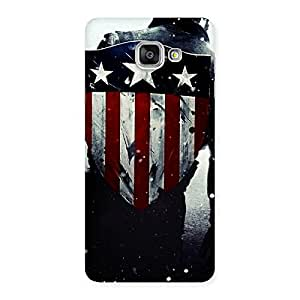 Cute Vintage Shield Multicolor Back Case Cover for Galaxy A7 2016