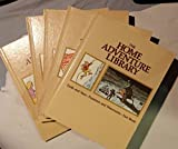 img - for The Home Adventure Library (Complete 5 Volume Set) (Earth and Stars-Numbers and Discoveries-Fact Book, Plants and Animals-All About You, People and Places-America's Story, Great Stories-Holidays and Entertainments-Index, Parents Guide) book / textbook / text book